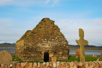 Kilnave Chapel and Cross, Isle of Islay, Scotland