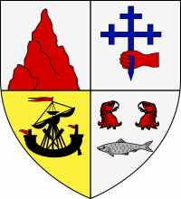 Maclean of Duart and Morven arms, image from Wikimedia Commons.